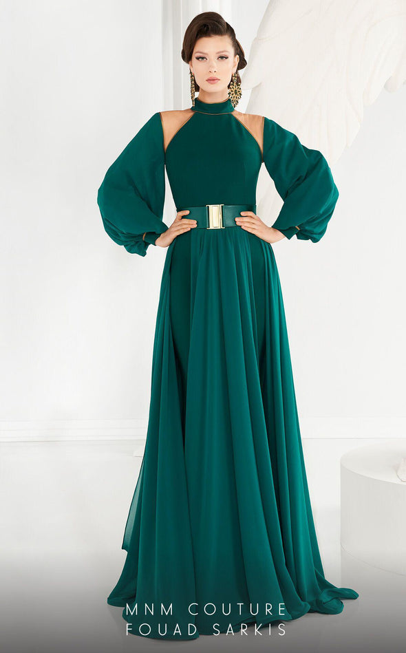 Style 2480A-Fouad Sarkis-4/36-GREEN-onlinemarkat
