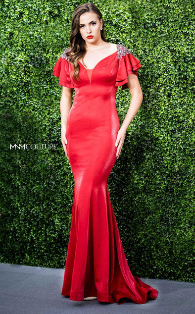 Style F4931-MNM COUTURE-0/32-RED-onlinemarkat