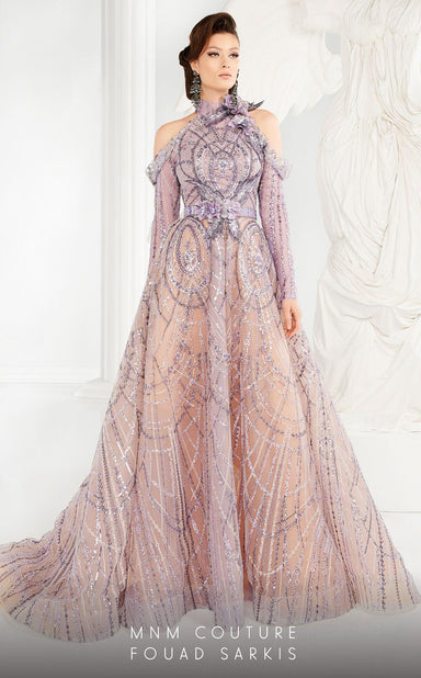 Style 2562-Fouad Sarkis-4/36-LILAC-onlinemarkat
