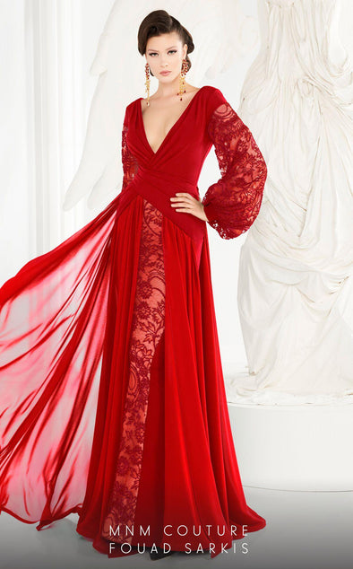 Style 2551-Fouad Sarkis-4/36-RED-onlinemarkat