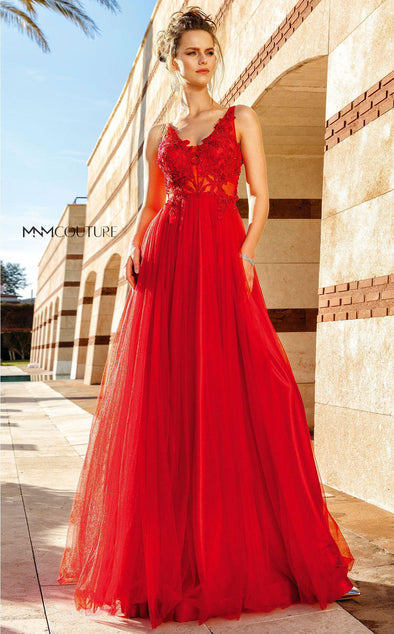 Style F4884-MNM COUTURE-0/32-RED-onlinemarkat
