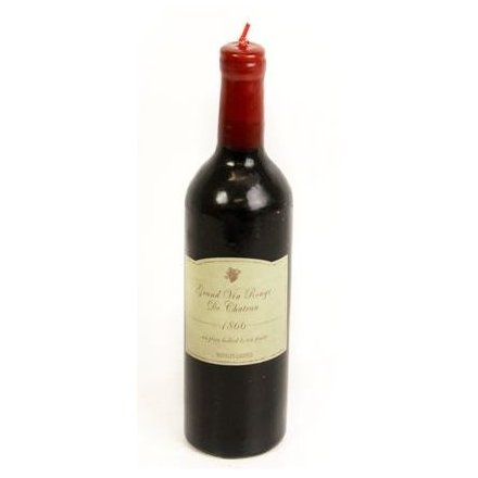 Wine Bottle Shaped Candle
