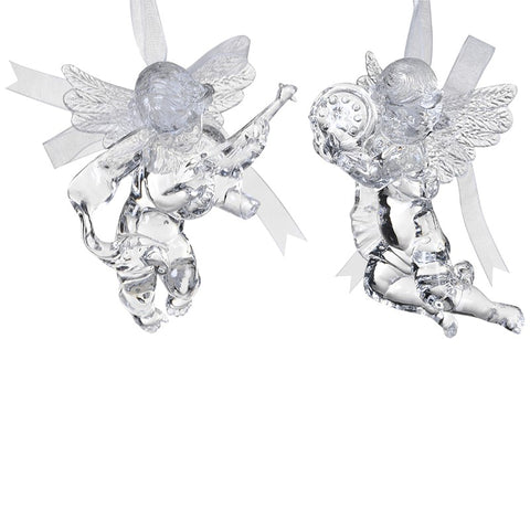 Pair of Hanging Cherubs