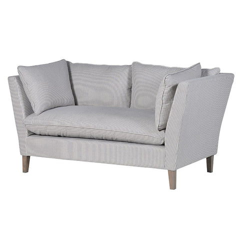 Coastal Striped 2 Seater Sofa - Unique Gifts & Interiors