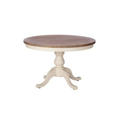 New England Circular Dining Table