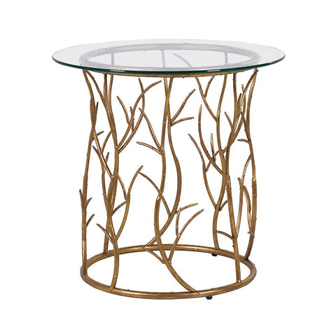 Gold Vine Side Table - Unique Gifts & Interiors