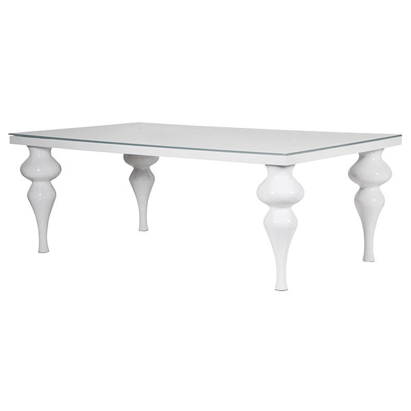 Large Modern high gloss dining table - Unique Gifts & Interiors