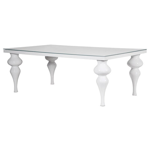 Large Modern high gloss dining table