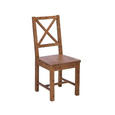 Rustic re-claimed dining chair - Unique Gifts & Interiors