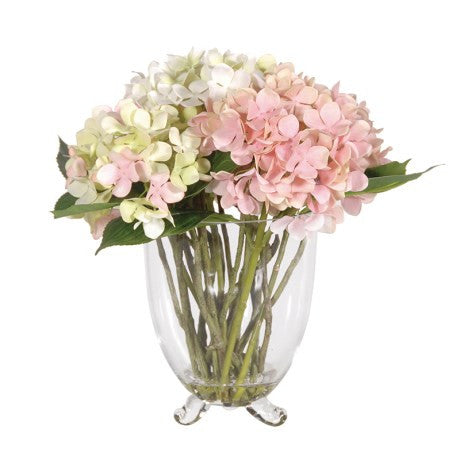 Soft Pink Hydrangea arrangement - Unique Gifts & Interiors