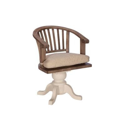 New England Captain's Swivel Desk Chair - Unique Gifts & Interiors