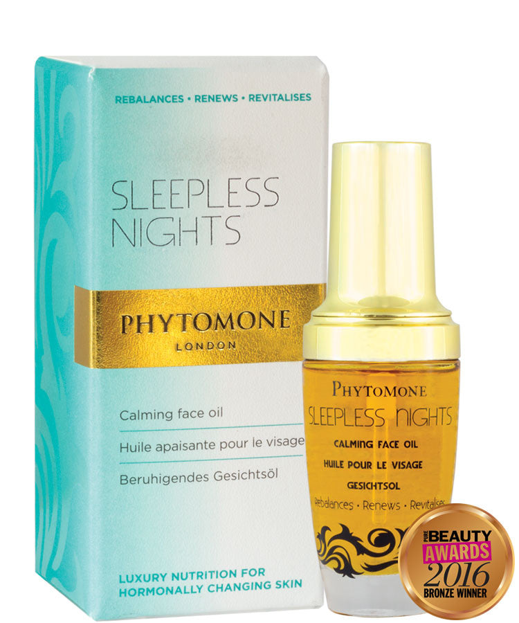 Sleepless Nights Calming Face Oil 30ml With Phytonol
