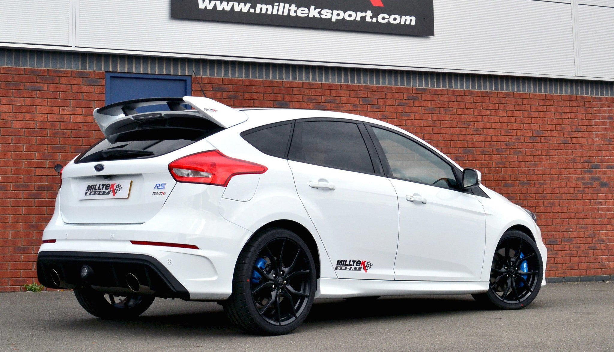 Ford Focus RS Mk3 Milltek Cat Back Non-Res - Wayside Performance