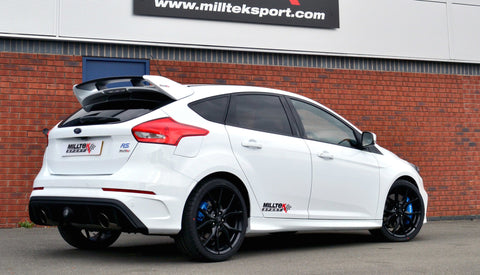 Ford Focus RS Mk3 Milltek Cat Back Resonated