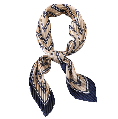 TSE STRIPE PLEATED SCARF