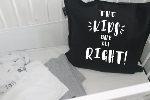 'the kids are all right' inspo cushion cover