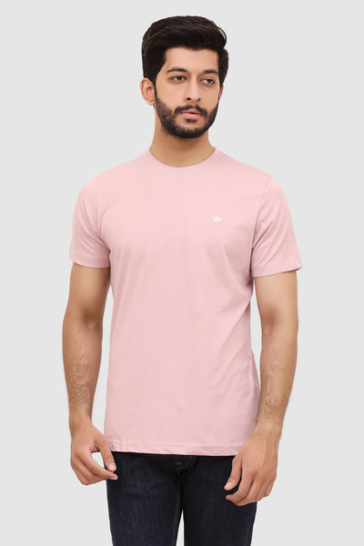 Men's Short-Sleeve Summer Crew T-Shirt - Pink Grape