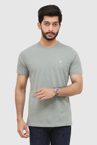Men's Short-Sleeve Summer Crew T-Shirt - Sea Green
