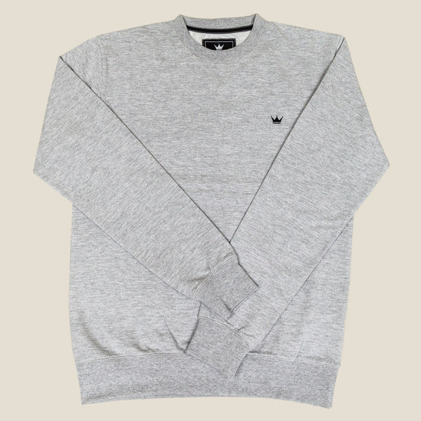 Mens Crewneck Sweatshirt - Grey