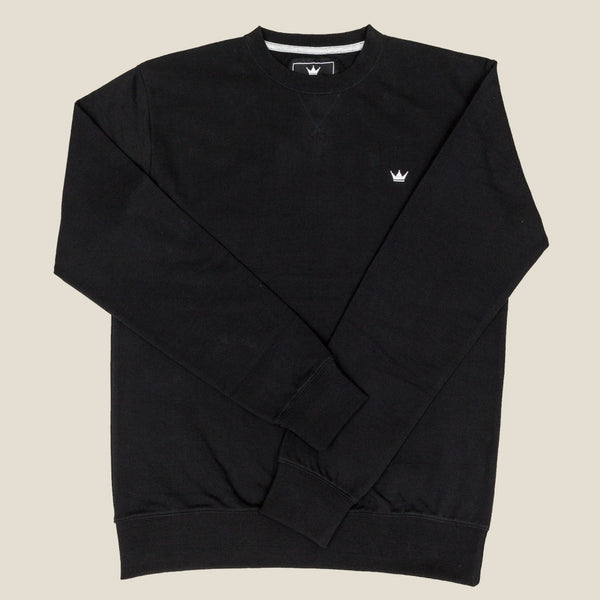 Mens Crewneck Sweatshirt - Black