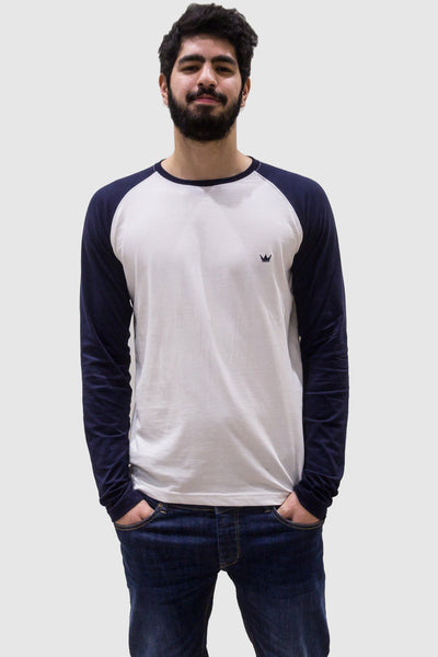 Mens Long-Sleeve 'Raglan' T-Shirt