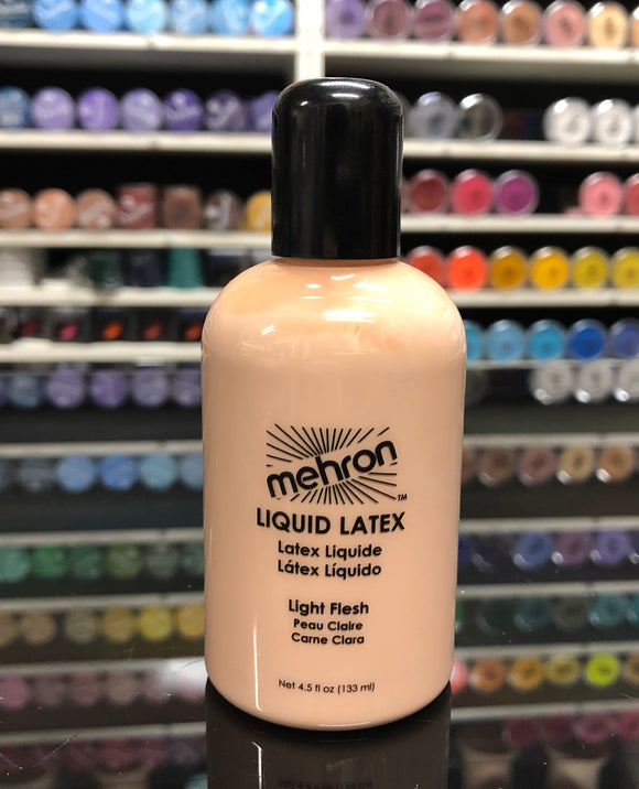 Mehron Liquid Latex- Light Flesh 133ml