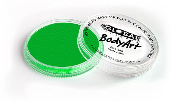 Global Colours Face Paint Neon Green 32g