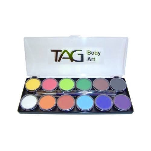 Tag 12x10g palette regular colours