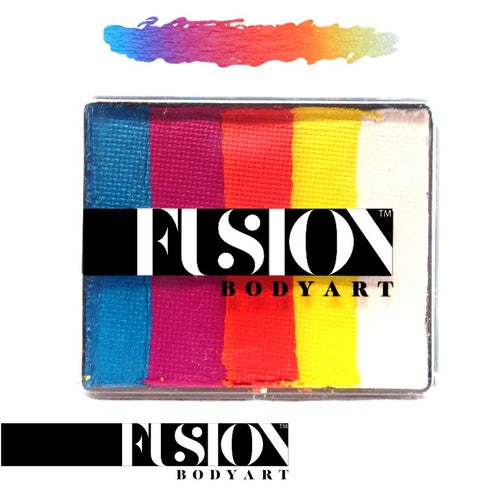 Fusion Body Art Rainbow Cake- Summer Sunrise 50g