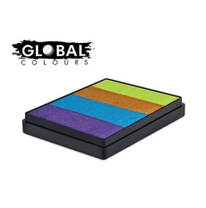 Global Colours Rainbow Cake- French Quarter 50g