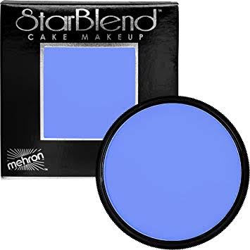 Mehron Starblend powder- Blue 2 oz