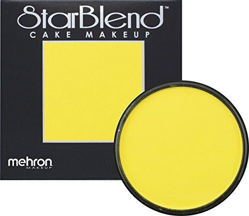 Mehron Starblend Powder Yellow  50g