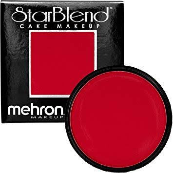 Mehron Starblend Powder Red 50g