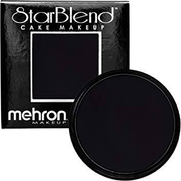 Mehron Starblend Powder Black 2oz