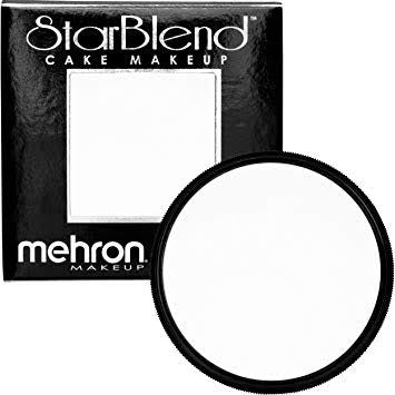 Mehron Starblend Powder White 50g