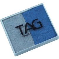 Tag Body Art Split Cake 50g- Pearl blue and Pearl Silver
