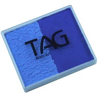 Tag Body Art Split Cake 50g- Regular Royal Blue and Regular Powder Blue