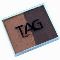 Tag Body Art Split Cake 50g- Regular Brown and Regular Mid Brown