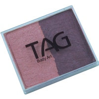 Tag Body Art Split Cake 50g- Pearl Blush and Pearl Berry Wine