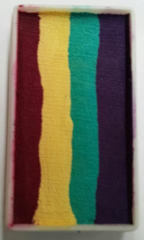 Face Paints Australia- One Stroke Rainbow Cake-  Acacia 30g