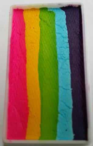 Face Paints Australia- One Stroke Rainbow Cake-  Bottle Brush 30g