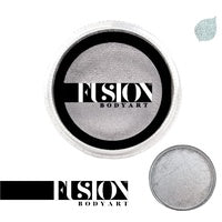 Fusion Body Art Pearl Metallic Silver 25g