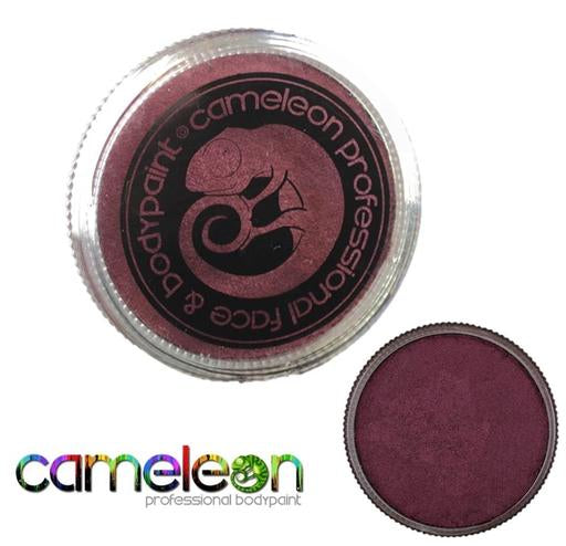 Cameleon Professional Face and Body Paint 32g Metallic Plum Fairy