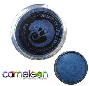 Cameleon Professional Face and Body Paint 32g Metallic Victorious Blue