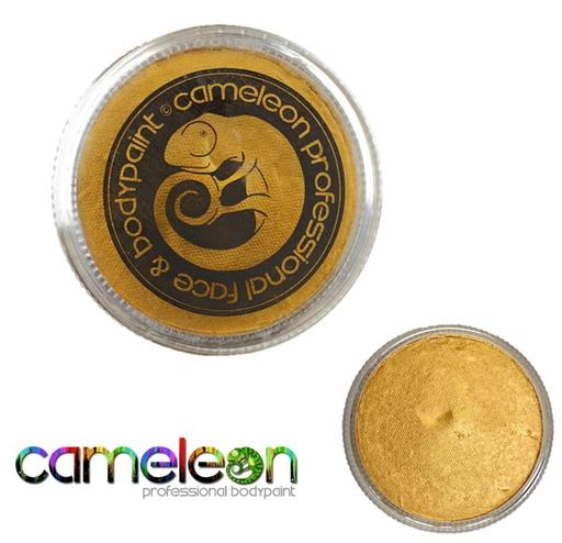 Cameleon Professional Face and Body Paint 32g Metallic Oscar Gold