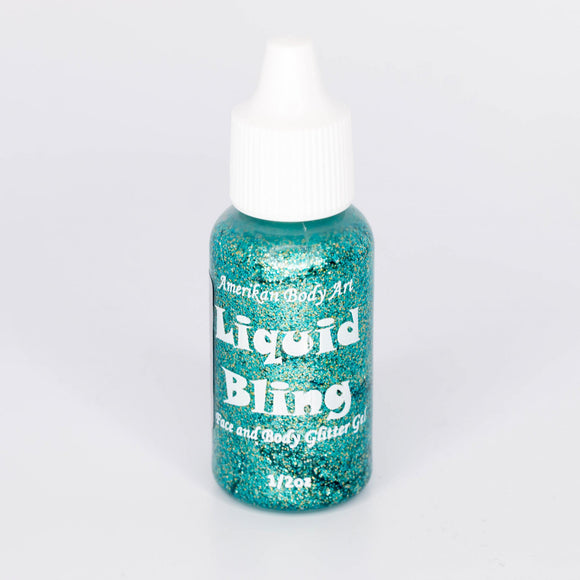 Amerikan Body Art -Liquid Bling 1/2 oz- Atlantis