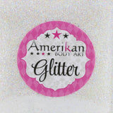 Amerikan Body Art Face Painting (cosmetic) Glitter Holographic White