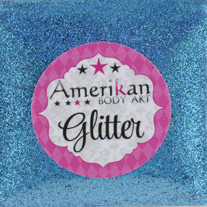 Amerikan Body Art Face Painting Glitter (Cosmetic Grade)- Holographic Blue
