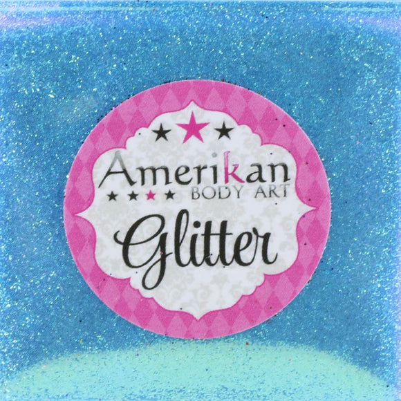 Amerikan Body Art Face Painting Glitter (Cosmetic Grade)- Glacier Blue