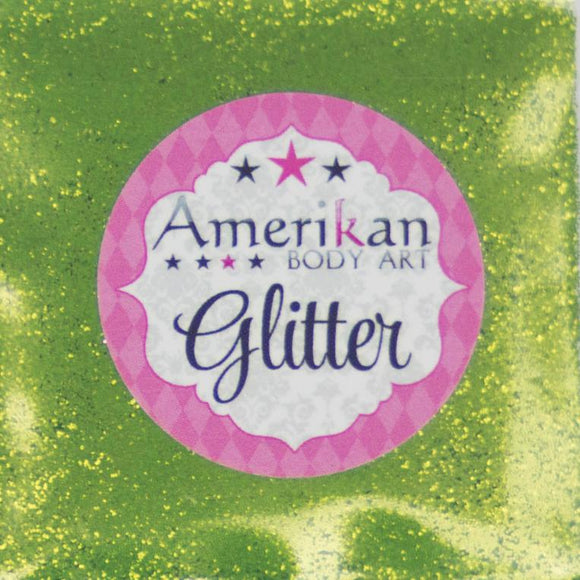 Amerikan Body Art Face Painting Glitter (Cosmetic Grade)- Kiwi